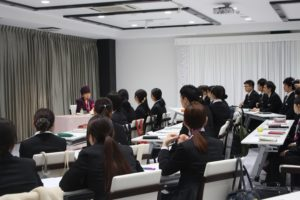 名誉学校長『桂由美先生』による特別講義
