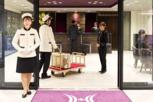 憧れのホテル・・・!