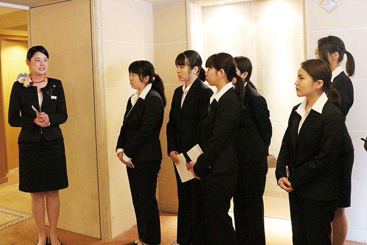 日本の御三家ホテル見学