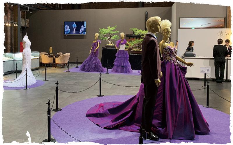 桂 由美先生ファッションショー運営アシスタント