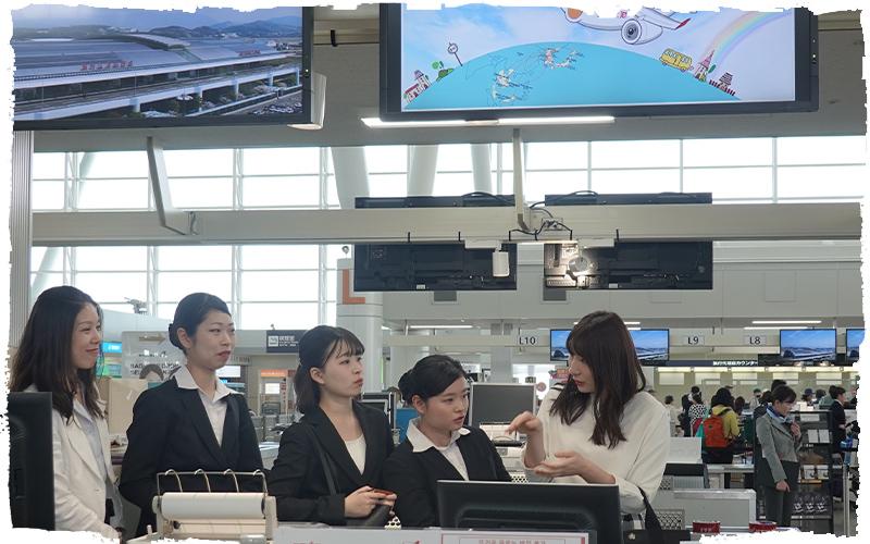 福岡空港見学