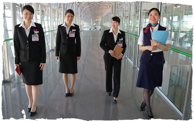 空港カウンターサービス提案